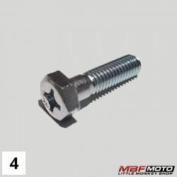Pultti sylinterin sivukiinnitys Honda Monkey 90082-035-010