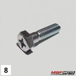 Pultti sylinterinkannen sivukiinnitys Honda Monkey 90082-035-010