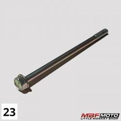 Läpipultti sylinterikansi Honda Monkey 95701-061-1000