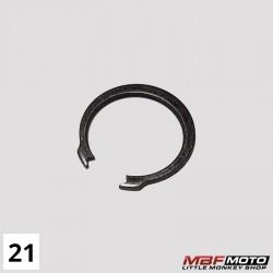 Lukkorengas ensiöratas Honda Monkey 87- 90601-001-000