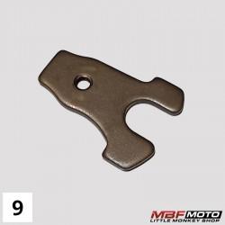 Levy, kytkimen säätö mekanismi Honda Monkey 87- 22835-035-000