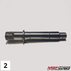 Akseli vaihteisto Honda Monkey -86 23221-041-040