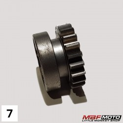 Ratas 3.21H vaihteisto Honda Monkey -86 23471-041-050
