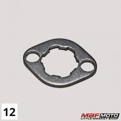 Lukkolevy eturatas Honda Monkey 87- 23802-045-670