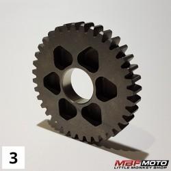 Ratas 1.36H vaihteisto Honda Monkey 87- 23421-086-020