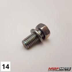 Pultti-napa 93402-080-1600 Honda Z50J