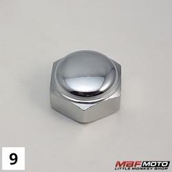 Mutteri t-kappale 90304-159-000 Honda Z50J