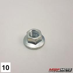 Mutteri ohjaustangon kiinnike 90354-115-000 Honda Z50J