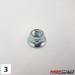 Aluslevy t-kappale mutteri 90304-GA6-003 Honda Z50J