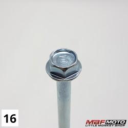 Pultti penkki 95701-081-0000 Honda Monkey Z50J