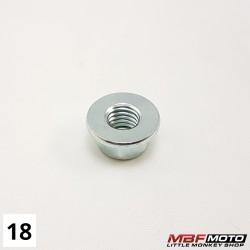 Mutteri 90309-428-731 Honda Monkey Z50J