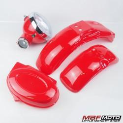 Muovisarja punainen Monkey